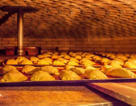 Empanadillas Ecológicas en el horno Forn del Parral