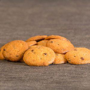 Rosquilletas Ecológicas dulces de Espelta con pepitas de Chocolate (con azúcar)
