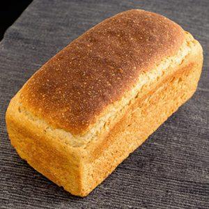 Pan de Molde Ecológico de Khorasan Semi-Integral de Fermentación Mixta. Cortado