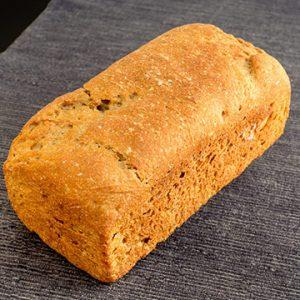 Pan de Molde Ecológico de <b>KHORASAN INTEGRAL</b> de Fermentación Mixta. Cortado 1