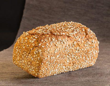Pan de Molde Ecológico Multicereales Semi-Integral de Fermentación Mixta. Cortado