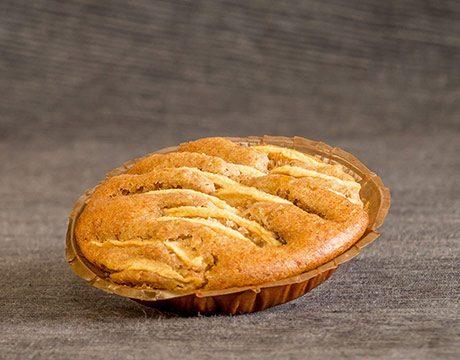 Tartaleta Ecológica de Manzana con Sirope de Arroz (sin Azúcar)