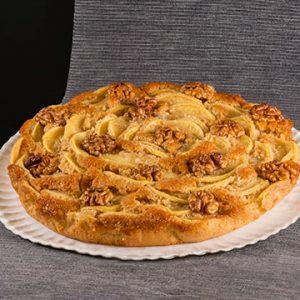 Tarta Ecológica de Manzana con Sirope Arroz